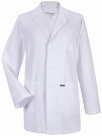 LABORATORY COAT WHITE LIGHT WEIGHT JUNIOR