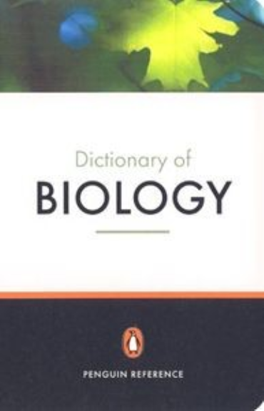 PENGUIN DICTIONARY OF BIOLOGY