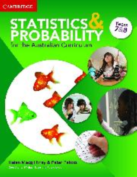 STATISTICS AND PROBABILITY AC YEAR 7&8 PRINT AND EBOOK