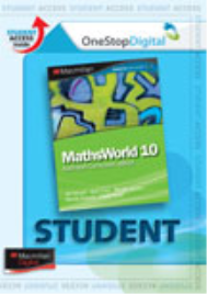 MATHSWORLD 10/10A AUSTRALIAN CURRICULUM EDITION EBOOK