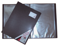 A3 DISPLAY BOOK 20 POCKETS NONREFILLABLE
