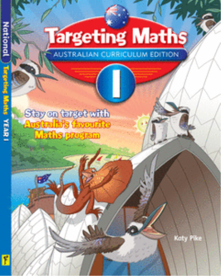 TARGETING MATHS AUSTRALIAN CURRICULUM EDITION YEAR 1 STUDENT BOOK
