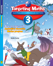 TARGETING MATHS AUSTRALIAN CURRICULUM EDITION YEAR 3 STUDENT BOOK