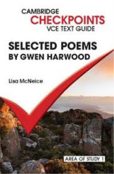 gwen harwood relationships throughout poems Human relationships and the fundamentals of human nature  throughout the two poems there is a common theme,  gwen harwood poems.