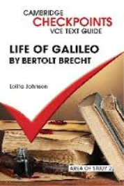 CAMBRIDGE CHECKPOINTS VCE TEXT GUIDES: LIFE OF GALILEO