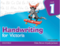 HANDWRITING FOR VICTORIA BOOK 1