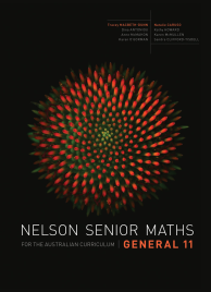 NELSON SENIOR MATHS AC GENERAL 11 SOLUTIONS DVD