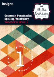 SKILLS BUILDER GRAMMAR, PUNCTUATION, SPELLING, VOCABULARY TEACHER'S BOOK 1 + EBOOK BUNDLE