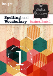 SKILLS BUILDERS SPELLING AND VOCABULARY BOOK 1 + EBOOK BUNDLE