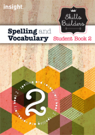 SKILLS BUILDERS SPELLING AND VOCABULARY BOOK 2 + EBOOK BUNDLE