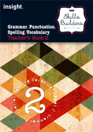 SKILLS BUILDER GRAMMAR, PUNCTUATION, SPELLING, VOCABULARY TEACHER'S BOOK 2 + EBOOK BUNDLE