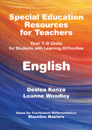 SPECIAL EDUCATION RESOURCES FOR TEACHERS - ENGLISH
