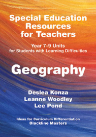 SPECIAL EDUCATION RESOURCES FOR TEACHERS - GEOGRAPHY