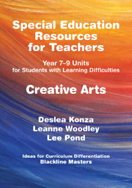 SPECIAL EDUCATION RESOURCES FOR TEACHERS - CREATIVE ARTS