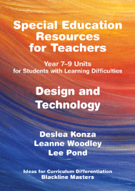 SPECIAL EDUCATION RESOURCES FOR TEACHERS - DESIGN & TECHNOLOGY