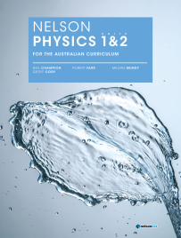 NELSON PHYSICS UNITS 1&2 AUSTRALIAN CURRICULUM STUDENT BOOK + EBOOK