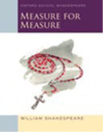 OXFORD SCHOOL SHAKESPEARE MEASURE FOR MEASURE