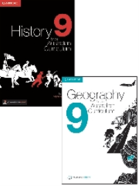 HISTORY & GEOGRAPHY AC 9 PRINT + EBOOK BUNDLE