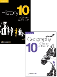 HISTORY & GEOGRAPHY AC 10 PRINT + EBOOK BUNDLE