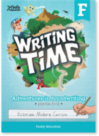 WRITING TIME F STUDENT BOOK: VICTORIAN MODERN CURSIVE