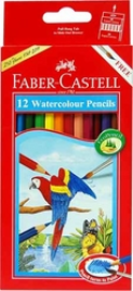 12 FABER CASTELL WATERCOLOUR PENCILS
