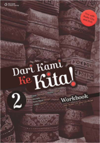 DARI KAMI KE KITA 2 WORKBOOK WITH AUDIO CDS