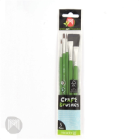 CRAFT BRUSHES 5 PACK