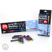 MICADOR LARGE OIL PASTELS WATERSOLUABLE 12'S