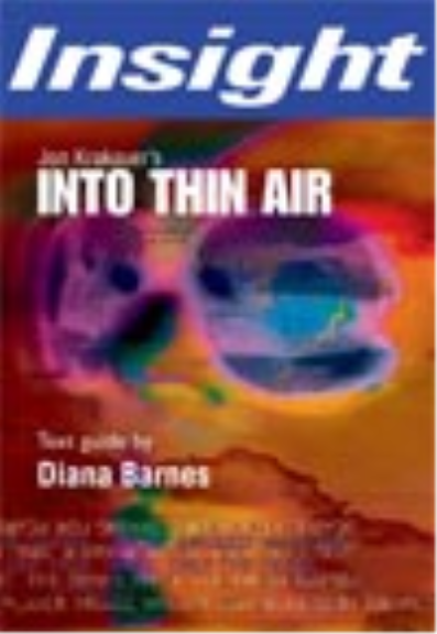 INSIGHT TEXT GUIDE: INTO THIN AIR