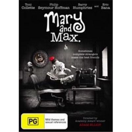 Buy Book Mary And Max Dvd Lilydale Books