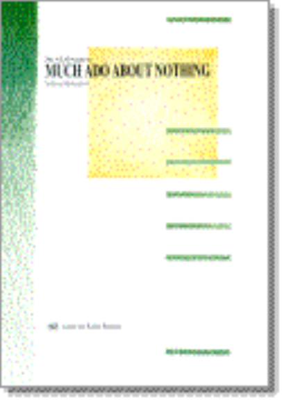 an analysis of the simbols in the much ado about nothing a novel by william shakespeare Much ado about nothing william shakespeare buy  play summary about much ado about nothing  thus, words and symbols suggesting cuckolding include horns, rams.