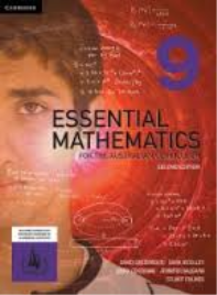 ESSENTIAL MATHEMATICS FOR THE AUSTRALIAN CURRICULUM YEAR 9 2E