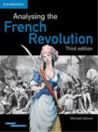 ANALYSING THE FRENCH REVOLUTION 3E