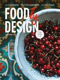 FOOD BY DESIGN STUDENT BOOK YEAR 7 - 10 3E + EBOOK