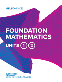 NELSON VCE FOUNDATION MATHEMATICS UNITS 1&2
