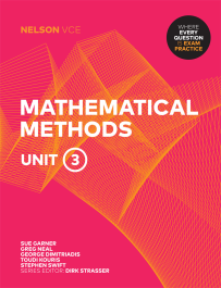 NELSON VCE MATHEMATICAL METHODS UNITS 3 + EBOOK