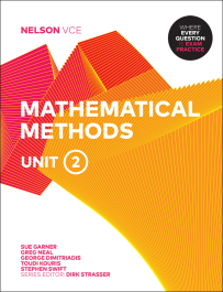 NELSON VCE MATHEMATICAL METHODS UNITS 2 + EBOOK