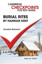 CAMBRIDGE CHECKPOINTS VCE TEXT GUIDES: BURIAL RITES
