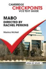 CAMBRIDGE CHECKPOINTS VCE TEXT GUIDES: MABO