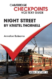CAMBRIDGE CHECKPOINTS VCE TEXT GUIDES: NIGHT STREET