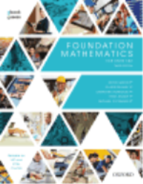 FOUNDATION MATHEMATICS STUDENT BOOK OBOOK/ASSESS