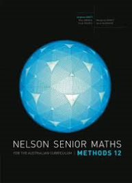 NELSON SENIOR MATHS AC METHODS 12  EBOOK