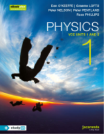 PHYSICS 1 VCE UNITS 1&2 & EBOOK (INCL STUDYON) EBOOK