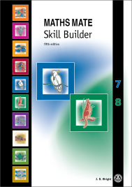 MATHS MATE 7/8 SKILL BUILDER (No printing or refunds. Check product description before purchasing)