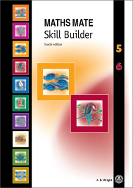 MATHS MATE 5/6 SKILL BUILDER (No printing or refunds. Check product description before purchasing)