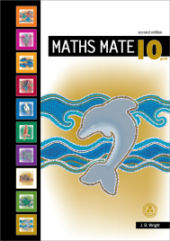 MATHS MATE 10 GOLD STUDENT PAD  (No printing or refunds. Check product description before purchasing)