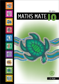 MATHS MATE 10 STUDENT PAD (No printing or refunds. Check product description before purchasing)