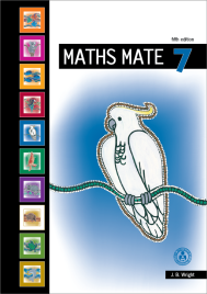 MATHS MATE 7 STUDENT PAD (No printing or refunds. Check product description before purchasing)