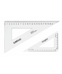 SET SQUARE 26CM 30/60 DEGREES