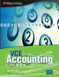 VCE ACCOUNTING UNITS 3&4 5E PFD EBOOK